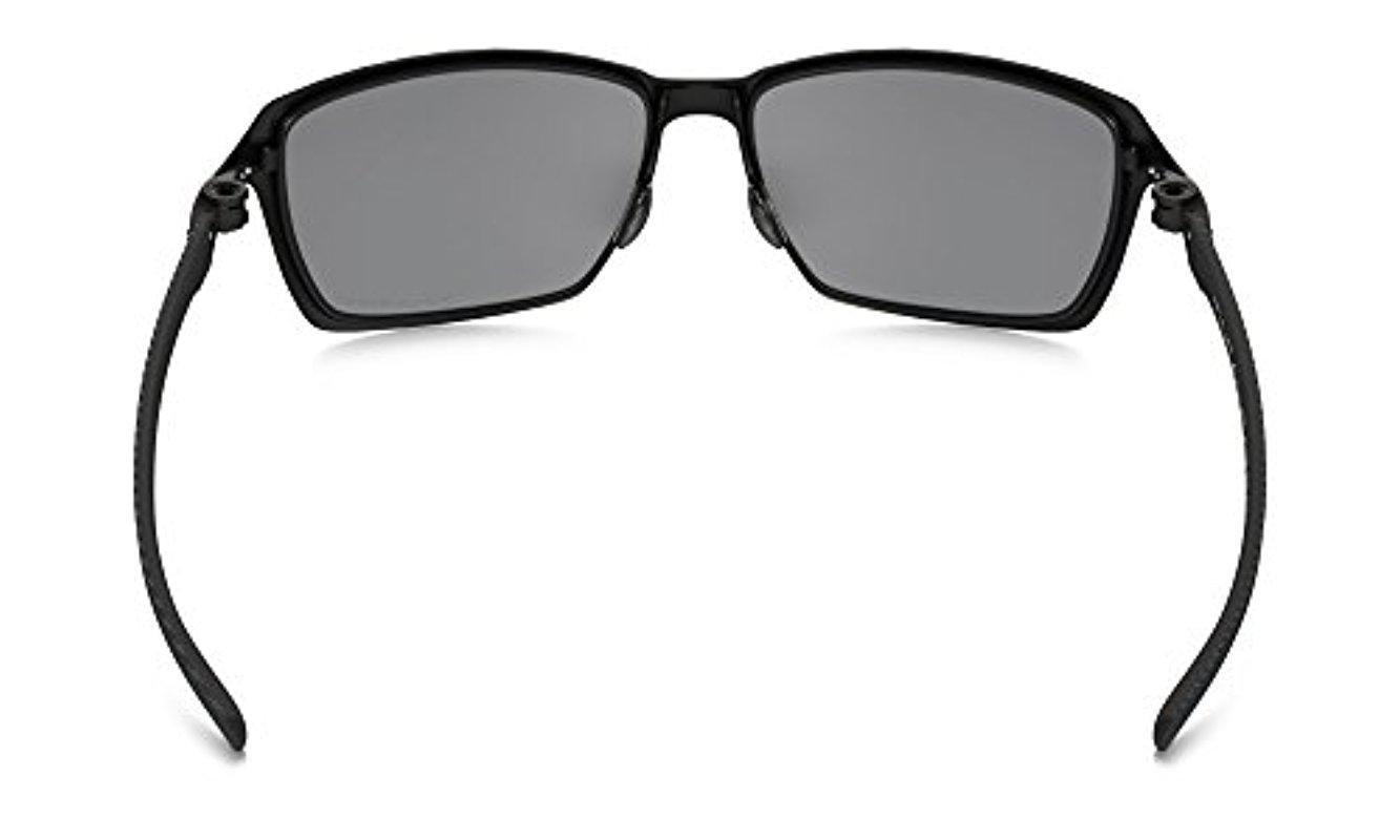 cda7aef8e9 Lyst - Oakley Tincan Carbon Polarized Iridium Rectangular Sunglasses ...