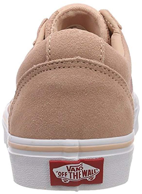 fed0fb06f3 Vans  s Ward Suede Low-top Sneakers in Pink - Lyst