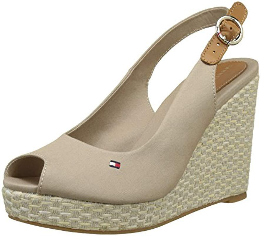 8e949732d Tommy Hilfiger. Women s Natural Iconic Elena Basic Sling Back Espadrilles