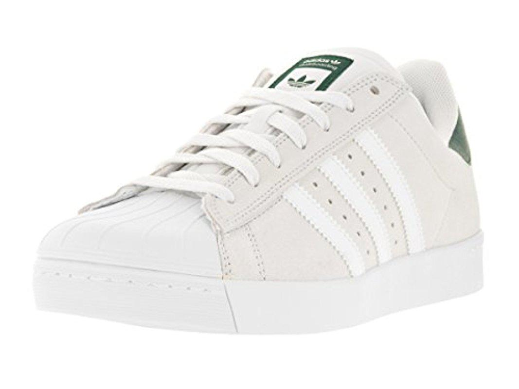 hot sale online 890bb cabae adidas zapatos Superstar Originals en ADV para blanco Vulc para Lyst Bqadxd