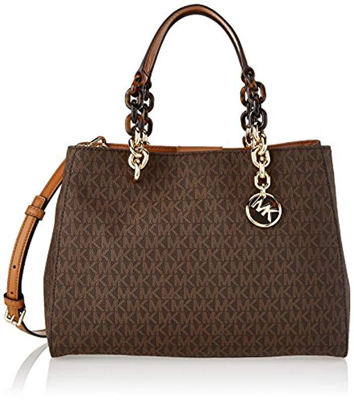 c98975596c1c Michael Kors. Women s Brown - Cynthia Mid Satchel