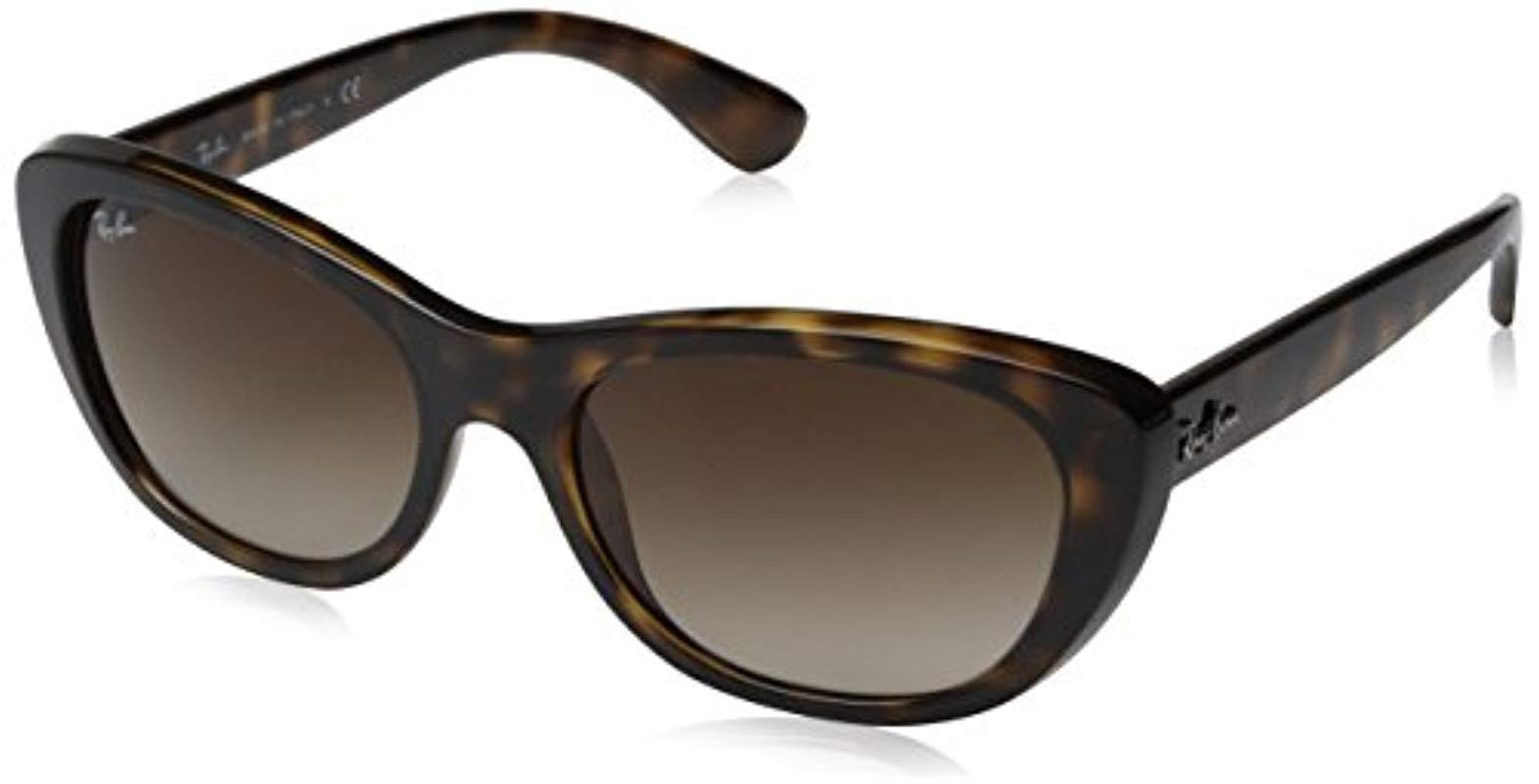 26032e616d Ray-Ban Sonnenbrille (rb 4227) in Black - Lyst