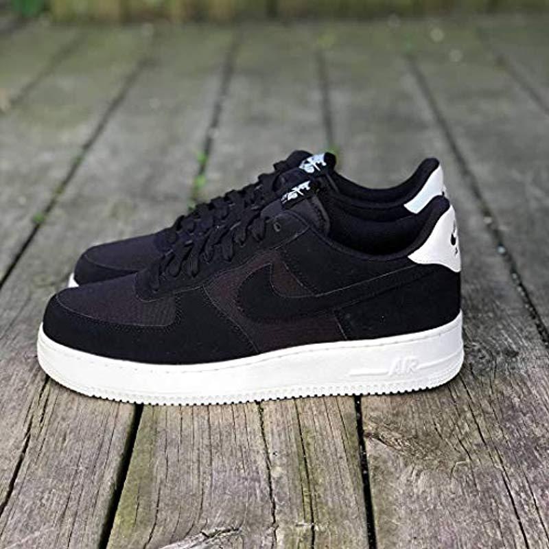 60a8201bb45c nike -Black-BlackBlackSail-001-Air-Force-1-07-Suede-Gymnastics-Shoes-Blacksail-001-6-Uk.jpeg