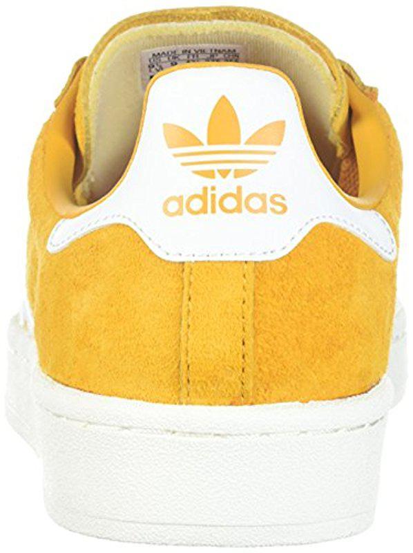 adidas campus mens yellow