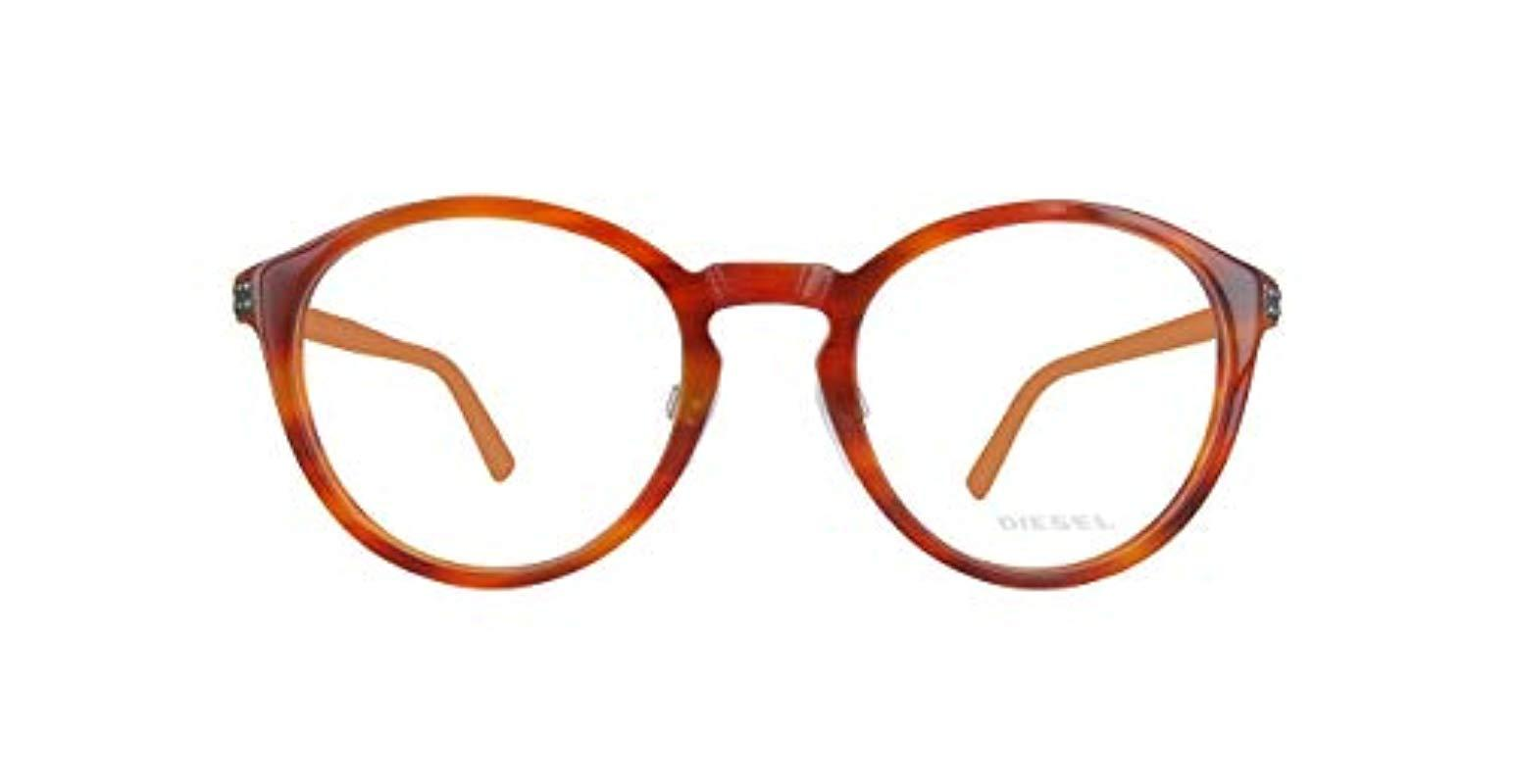 54.0 Blue Blue Diesel Unisex Adults Brillengestelle DL4042 090-54-0-0 Optical Frames