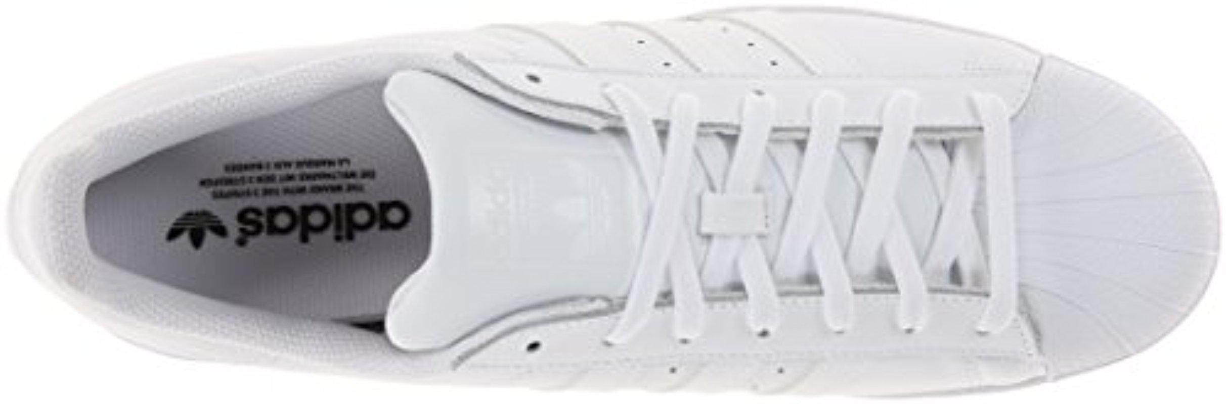 reputable site 3f0d6 6f97d Lyst - adidas Originals Superstar Foundation Casual Sneaker, White ...