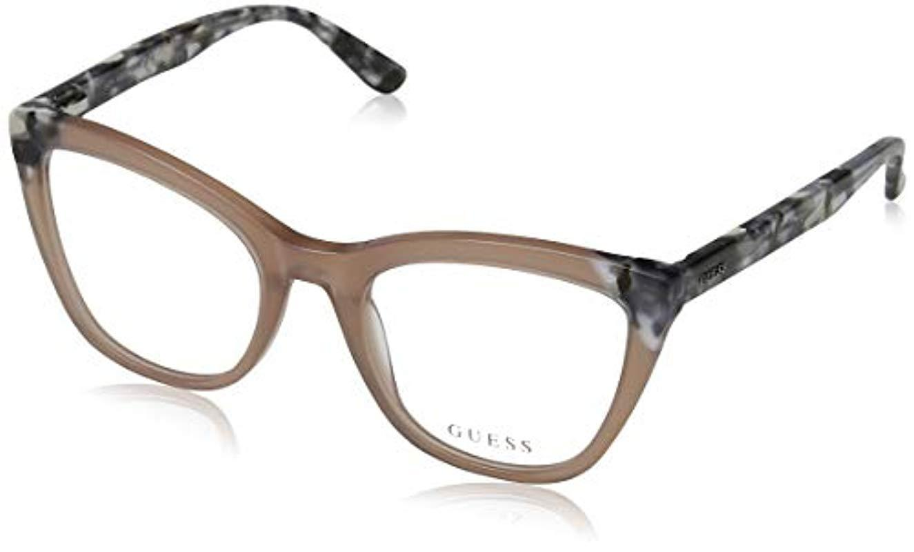ff1669e84d GU2674 Monturas de gafas, Beige, 51.0 Unisex Adulto Guess de color ...