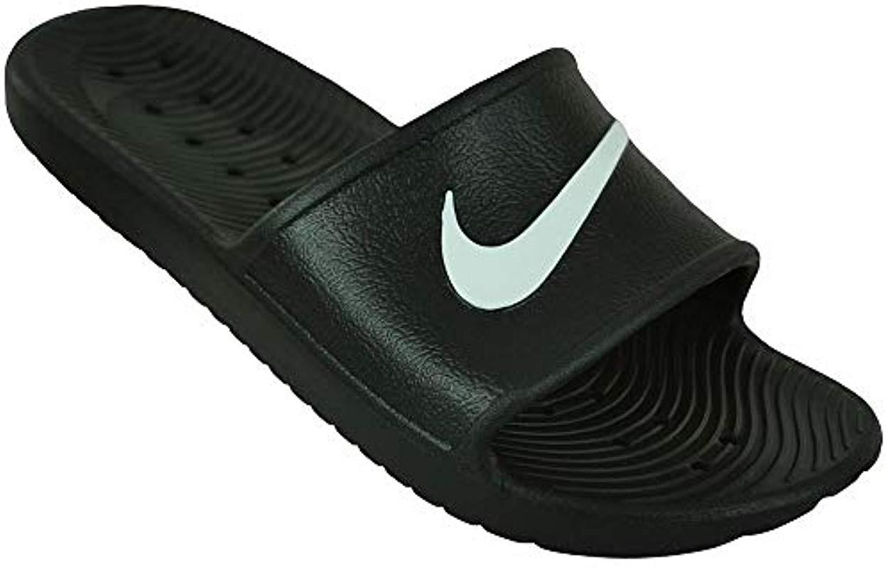 7a32b6a7f Nike Kawa Shower Beach   Pool Shoes in Black for Men - Lyst