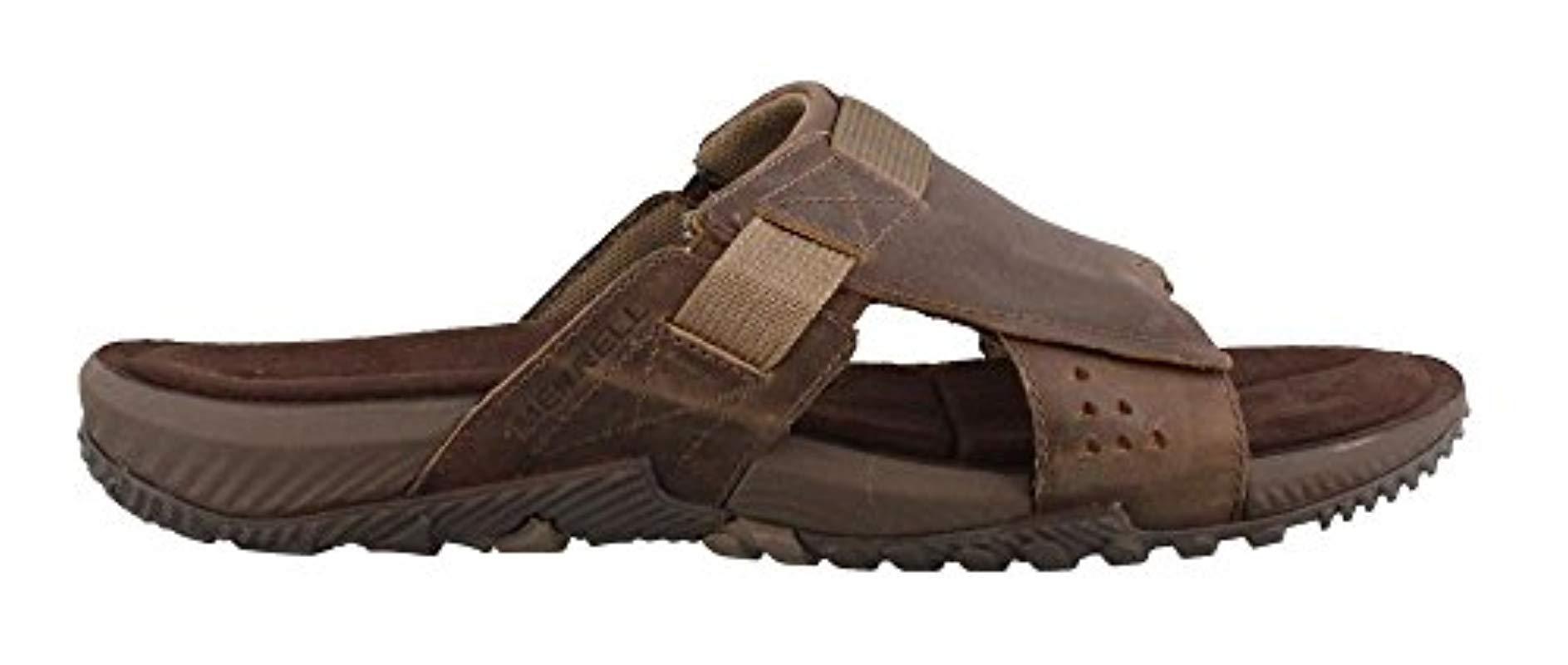 b35f50c2622c Lyst - Merrell Terrant Slide Sandal in Brown for Men - Save 24%