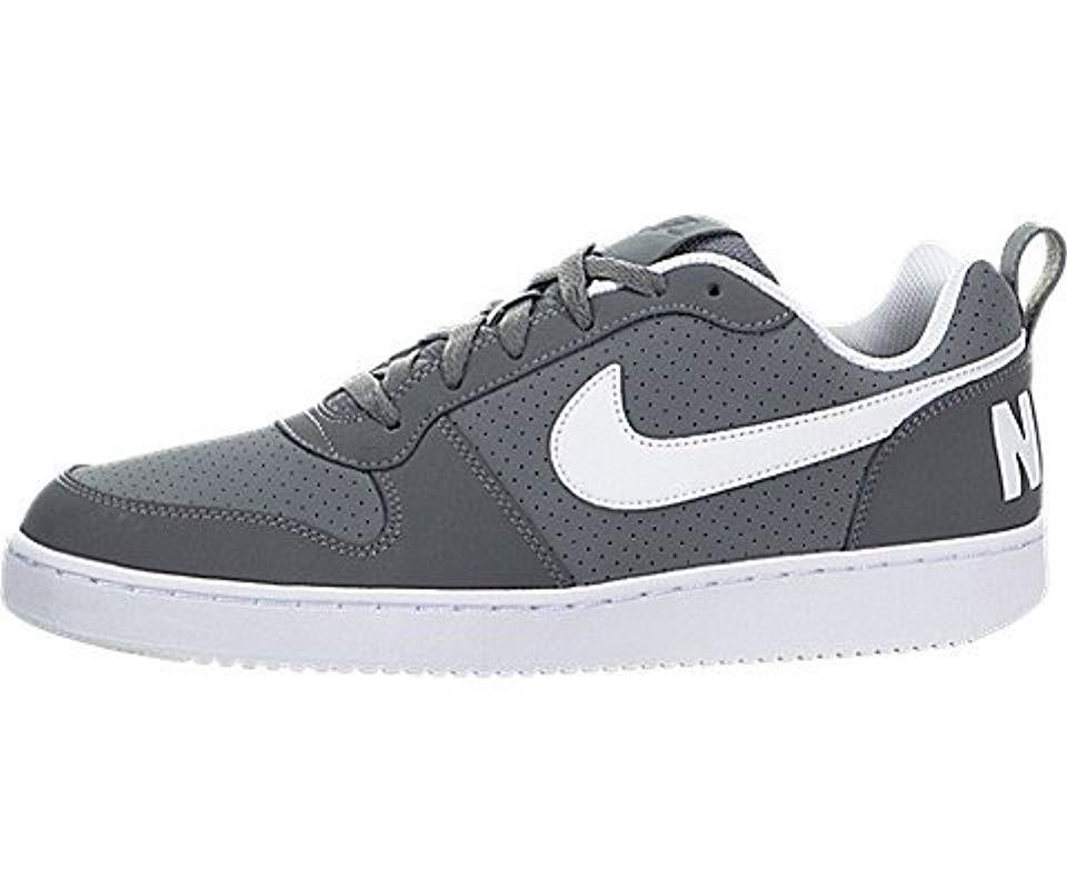 newest a1772 d1906 Lyst - Nike Court Borough Low Basketball Shoe in Gray for Men
