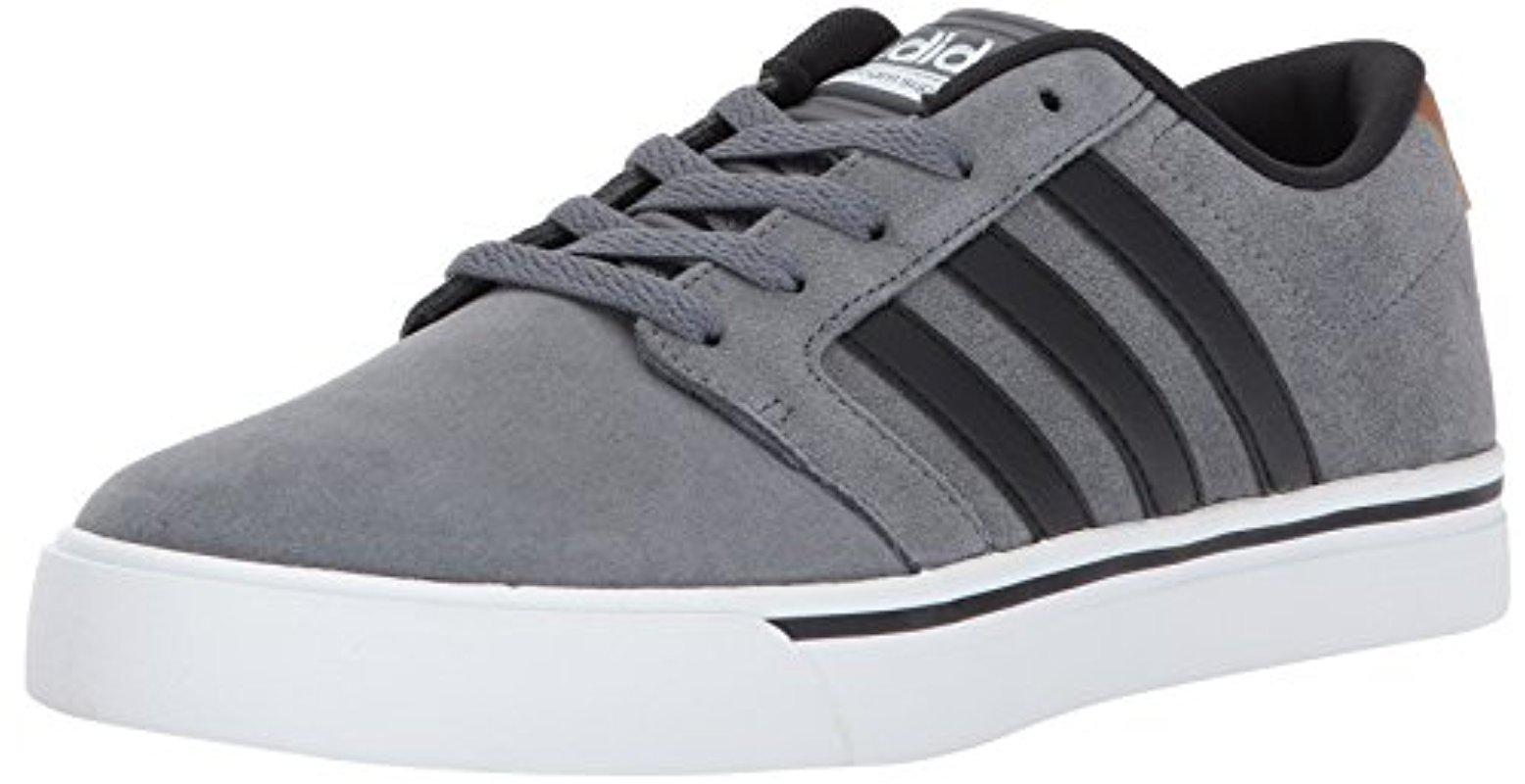 adidas NEO Mens CF Super Skate Sneaker Grey Four/Black/Timber 10 M US
