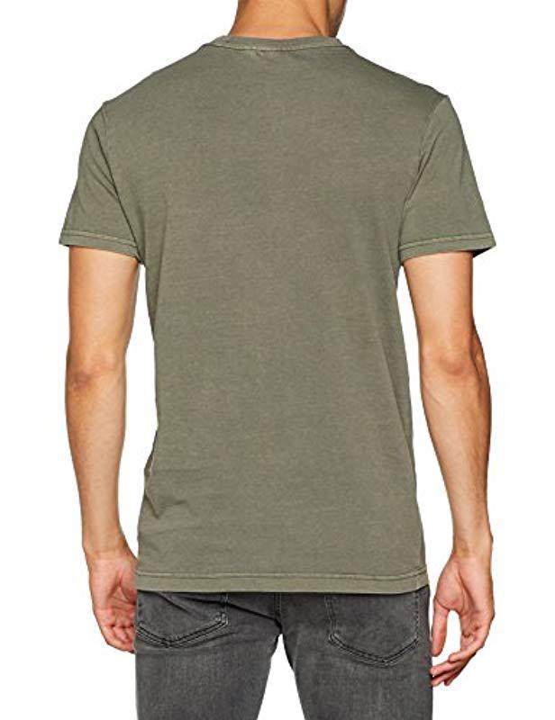 2d52042a G-Star RAW Zaddle R T S/s T-shirt in Green for Men - Lyst