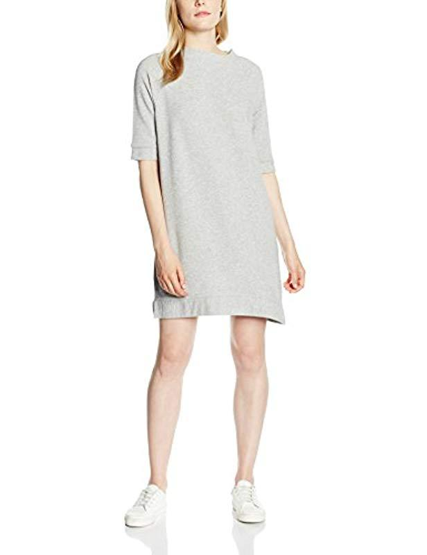 c566d2f1b08 French Connection. Women s Gray Summer Sudan Marl Raglan Jumper Short  Sleeve Dress