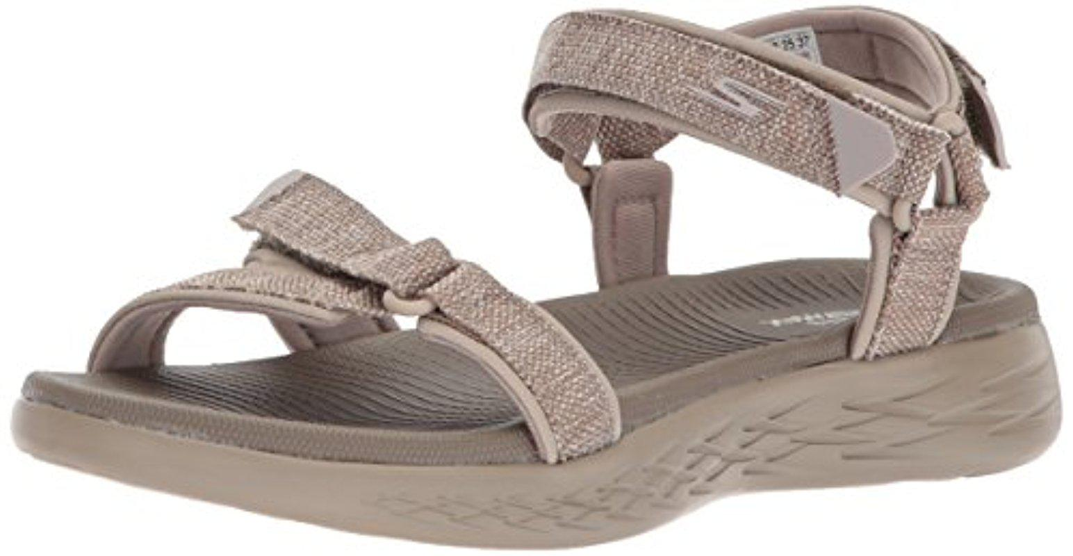 58a447d38bb8 Lyst - Skechers On-the-go 600-15315 Sport Sandal - Save 48%