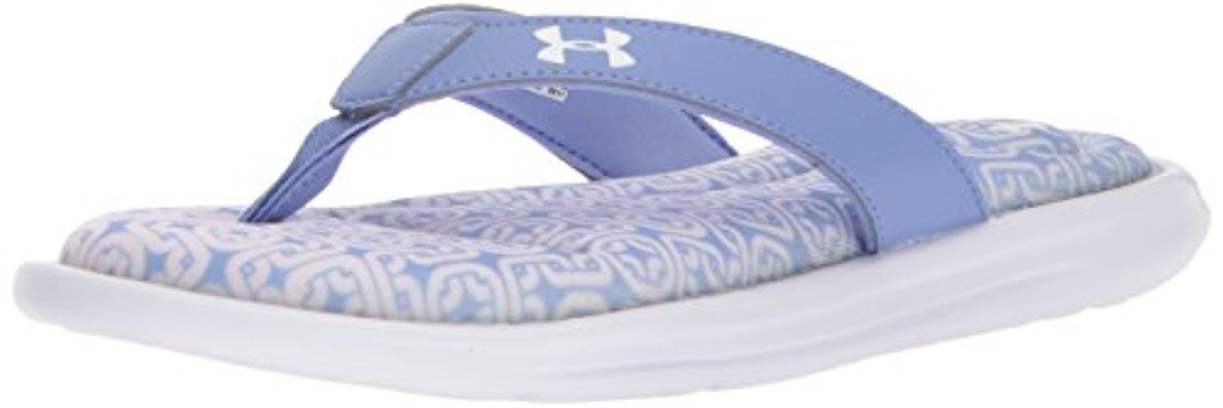 Under Armour Women's Marbella Oval VI Thong Slip-On Sandals RuobvEVcr