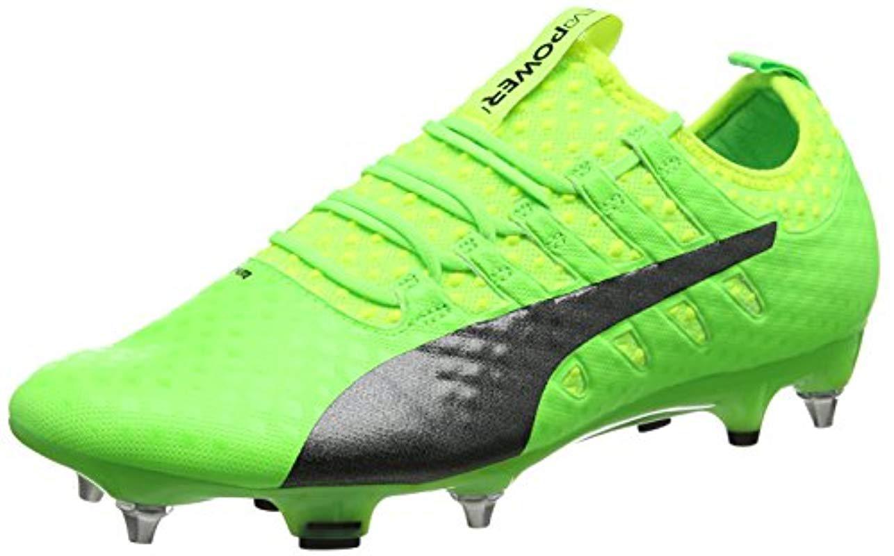 ef0a2e0b5 PUMA - Green Evopower Vigor 1 Mx Sg Football Boots for Men - Lyst. View  fullscreen