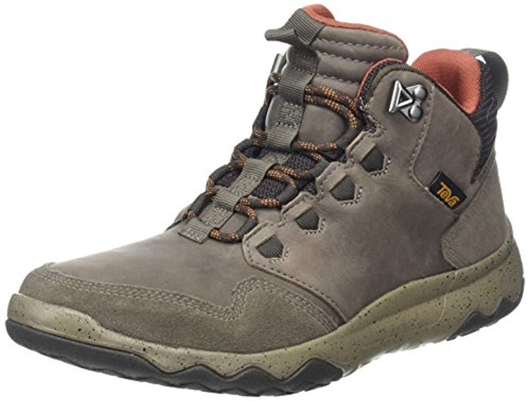 7658a594366143 Teva Arrowood Lux Mid Wp Sports And Outdoor Light Hiking Boot in ...
