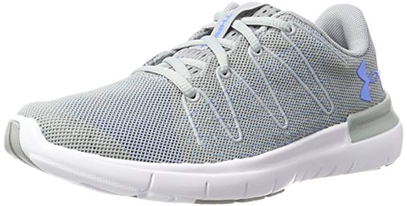 big sale a52a8 64db3 Under Armour 's Ua W Thrill 3 Training Shoes in Gray - Lyst