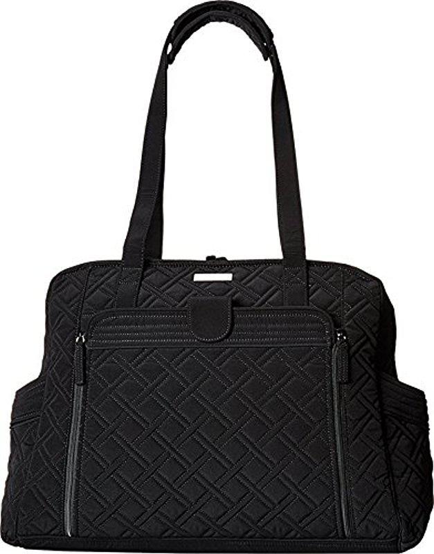 3185a97625 Vera Bradley - Black Large Stroll Around Baby Bag