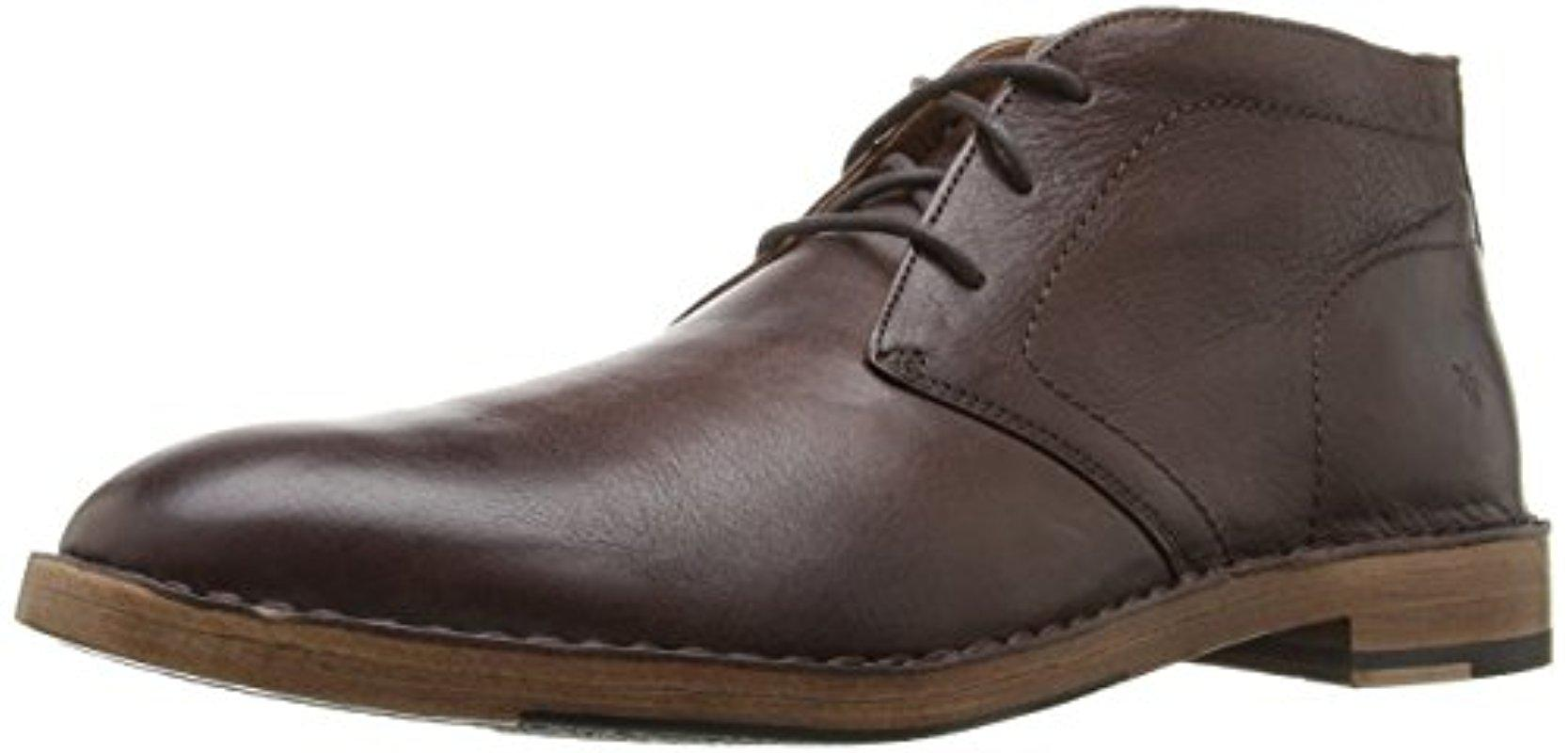 Frye. Men's Brown Mark Chukka Boot