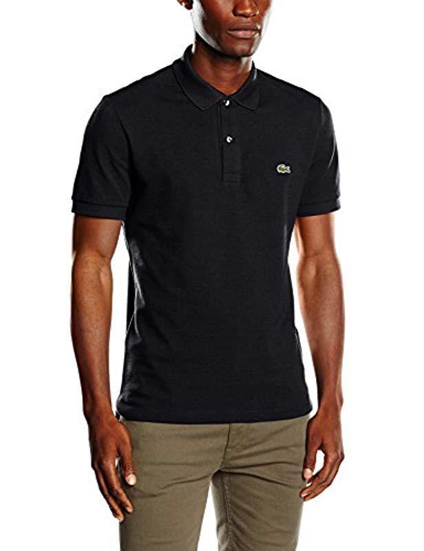 Lacoste Ph4012 Polo Shirt, Black (cachou Chiné),x-small ... 706779df70d6