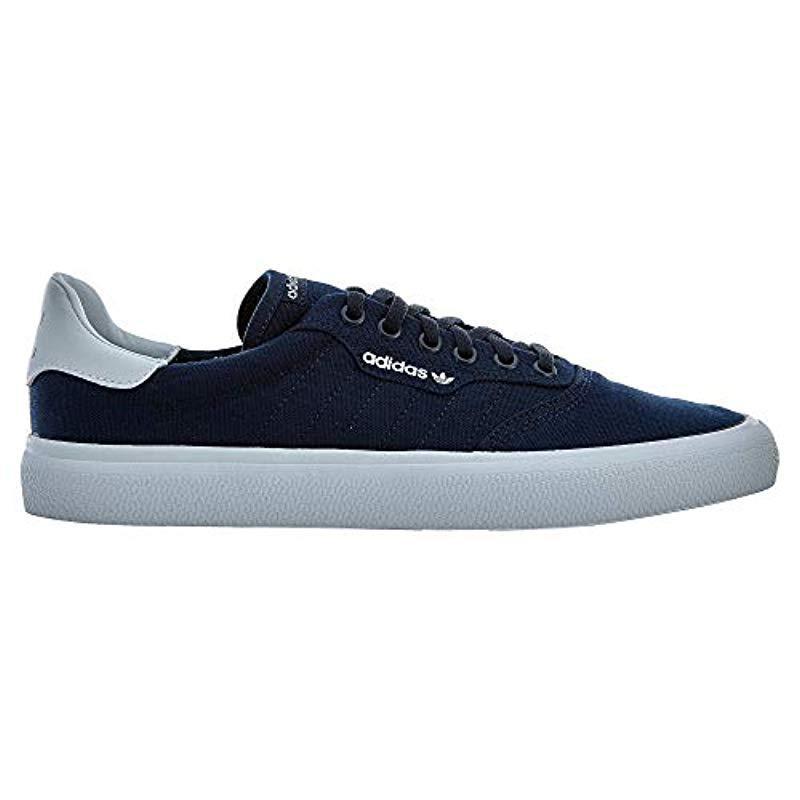 best sneakers 9b048 7d283 Lyst - Adidas 3mc Skate Shoe, Collegiate Navywhite, 12 M Us