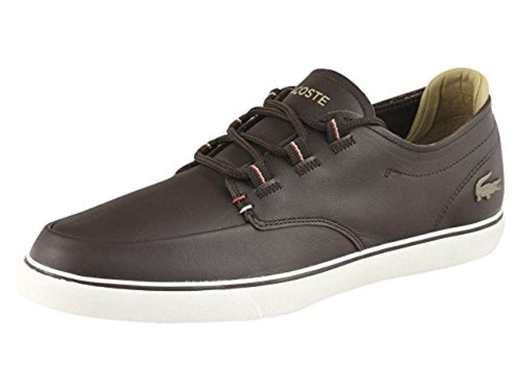 c73b76205948f4 Lyst - Lacoste  s Esparre Deck Sneakers for Men