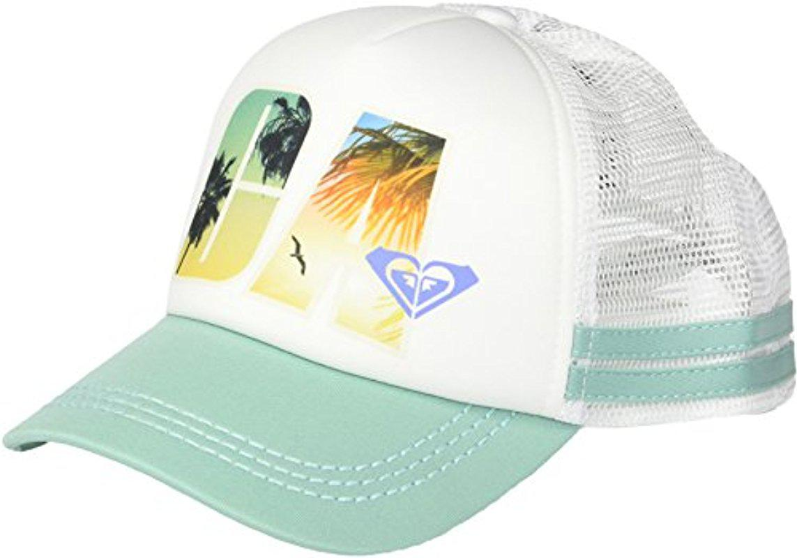 Lyst - Roxy Junior s Day In The Life California Dig This Trucker Hat ... b0256f28076
