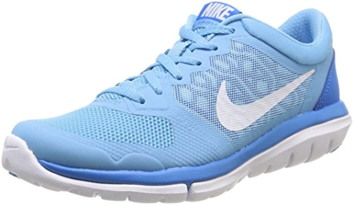 big sale 7b475 1c3db Nike. Women s Blue Wmns Flex 2015 ...