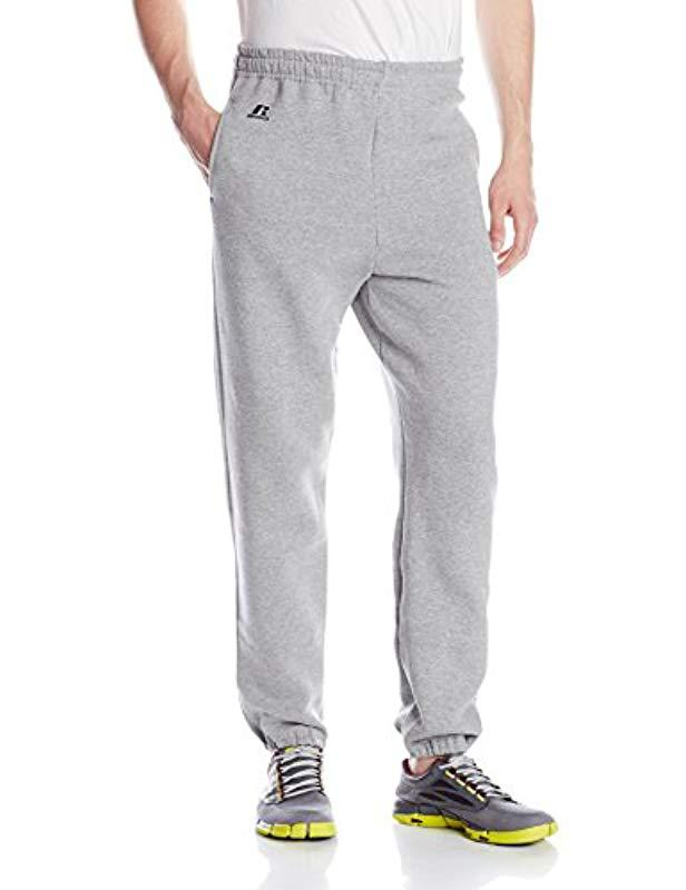 138cb8d5175d2 Lyst - Russell Athletic Dri-power Closed-bottom Sweatpants With ...