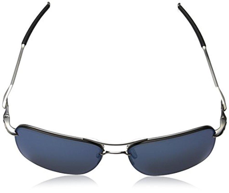 a0eb1ae64e Lyst - Oakley Tailhook Oo4087-01 Rectangular Sunglasses in Blue for Men