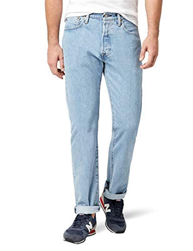 109b76c5 Levi's 501 Original Fit Jeans in Blue for Men - Save 52% - Lyst