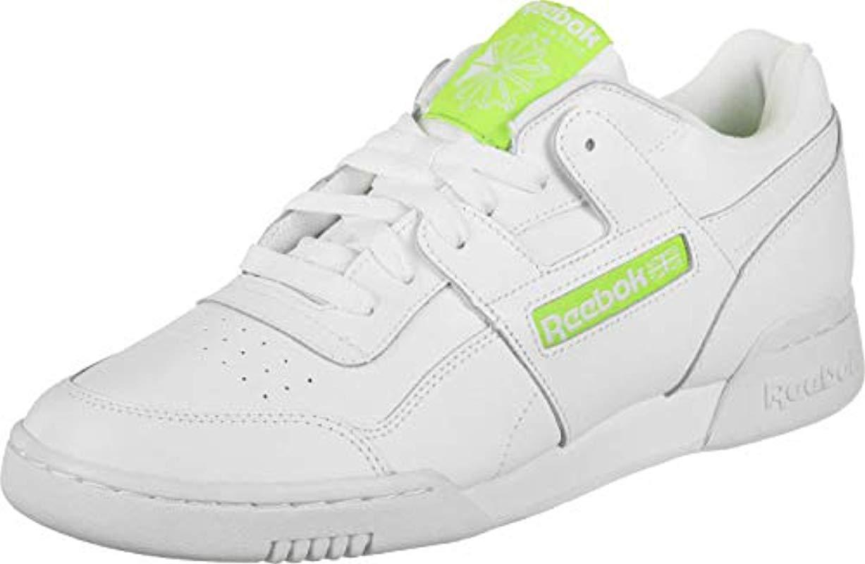 fcae04f27aa73 Reebok - White Workout Plus Mu Gymnastics Shoes for Men - Lyst. View  fullscreen