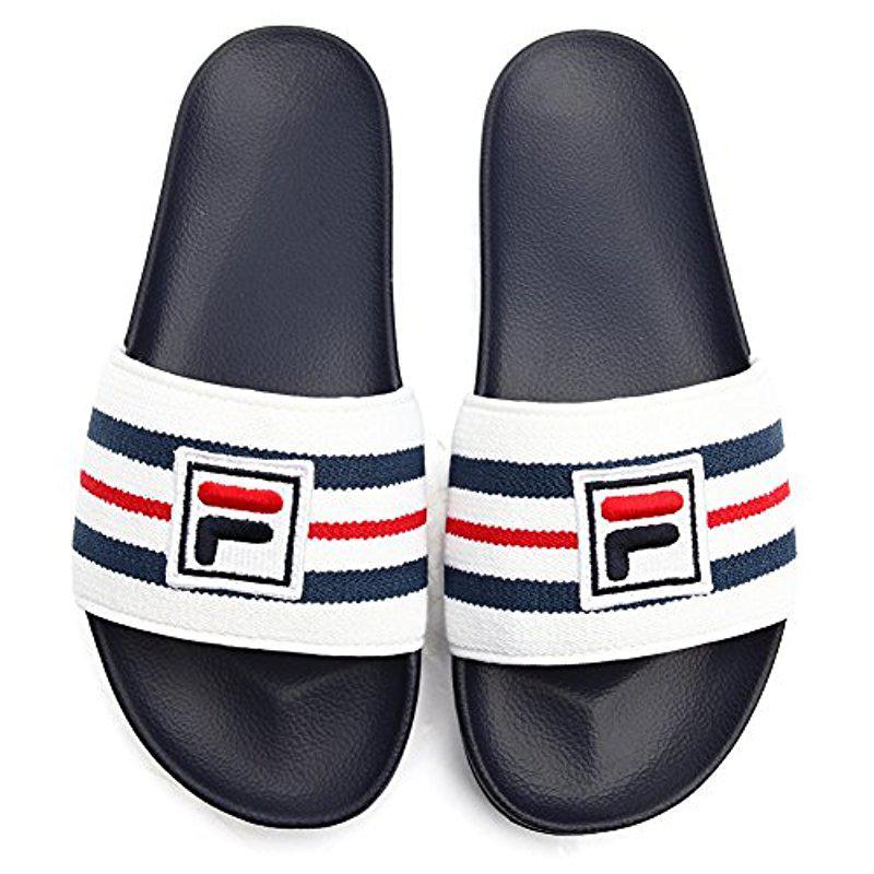 2906456fe Fila - Blue Drifter Sport Sandal for Men - Lyst. View fullscreen