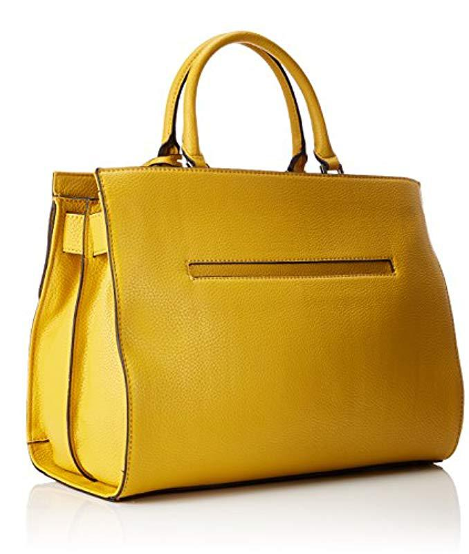 Guess mano Lyst Borsa giallo Bags in a colore Hobo wzRqBz