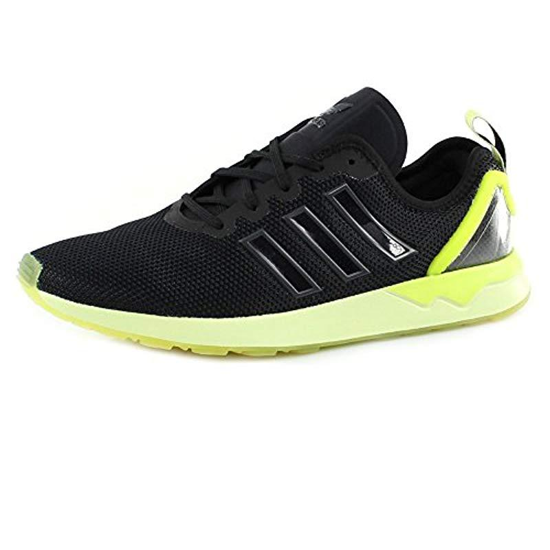 Adidas  s Zx Flux Adv Running Shoes in Black for Men - Lyst f57dc0c09
