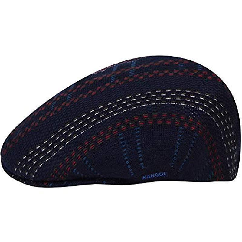 fffbdd24da134 Lyst - Kangol Pixel Plaid 504 Flat Ivy Cap Hat in Blue for Men ...