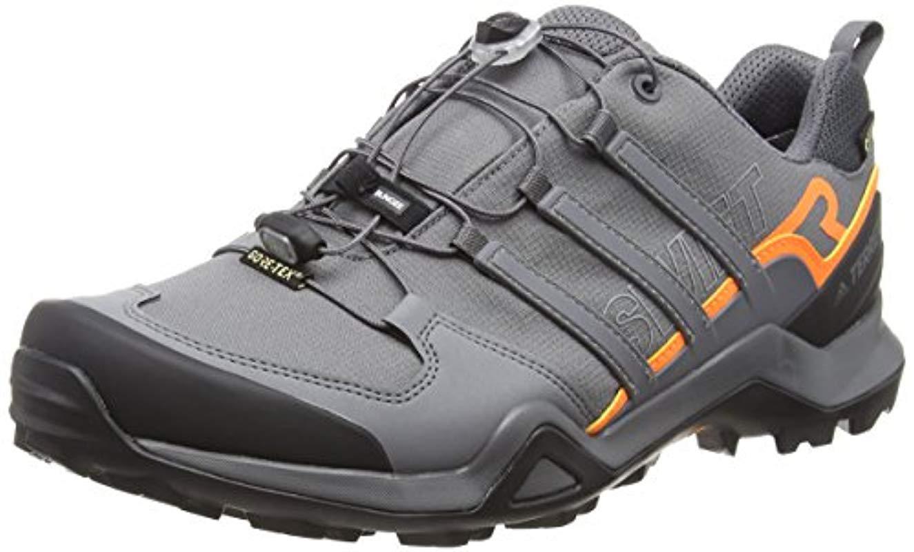 bd7b0f252dc23 adidas Terrex Swift R2 Gtx Cross Trainers in Gray for Men - Lyst