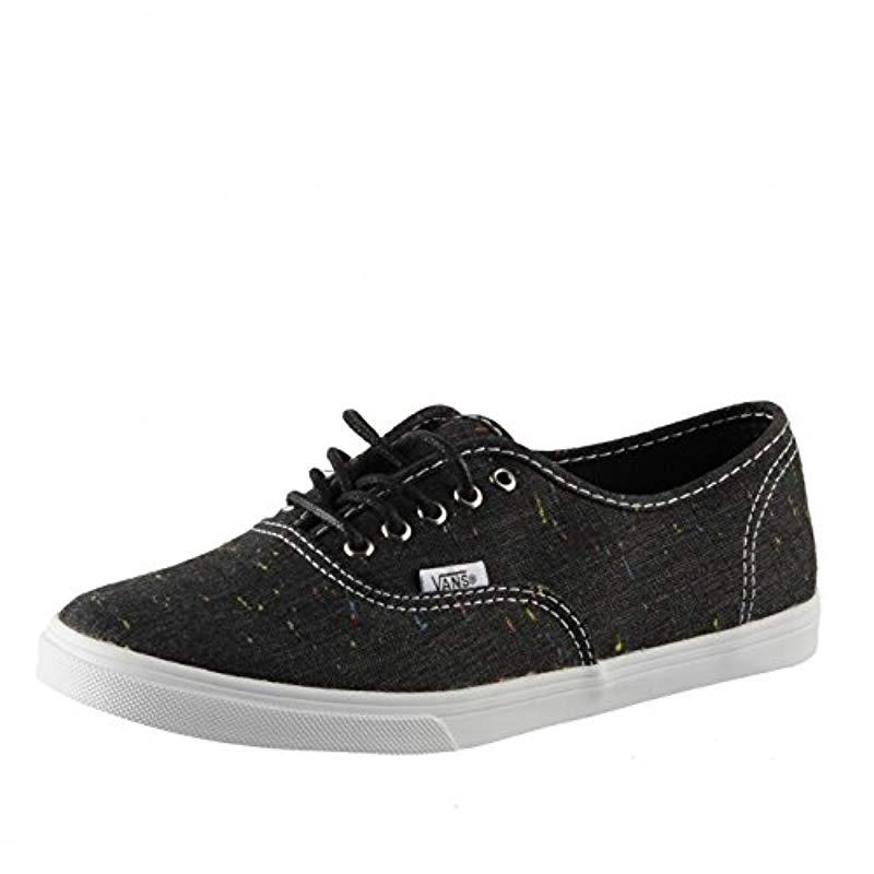 8e0cb53f93f Vans Unisex Adults  Authentic Lo Pro Low Trainers in Black for Men ...