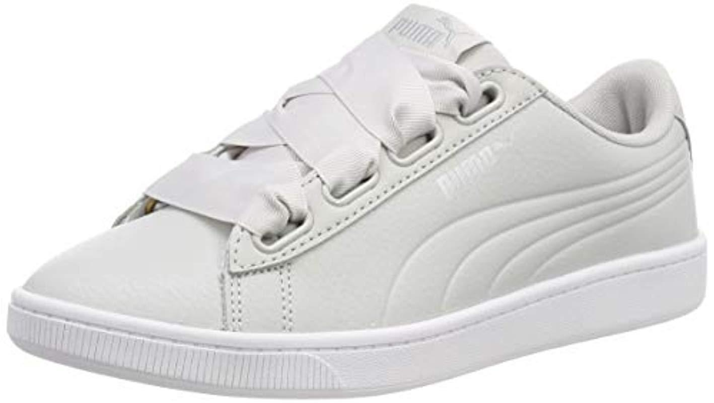 af144eef1c75 PUMA Vikky V2 Ribbon Core Low-top Sneakers in Gray - Lyst