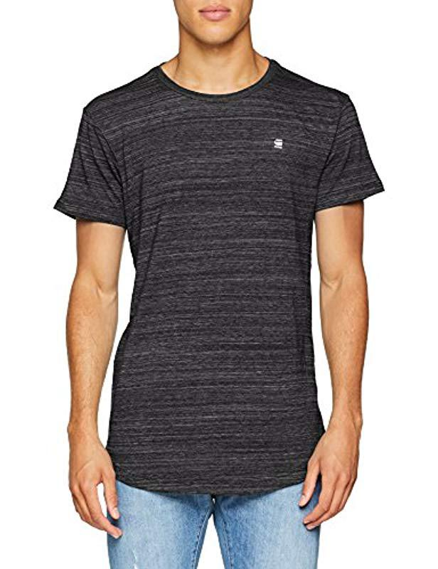 6b24abfcb27 G-Star Raw Starkon R T S/s T-shirt in Black for Men - Save ...