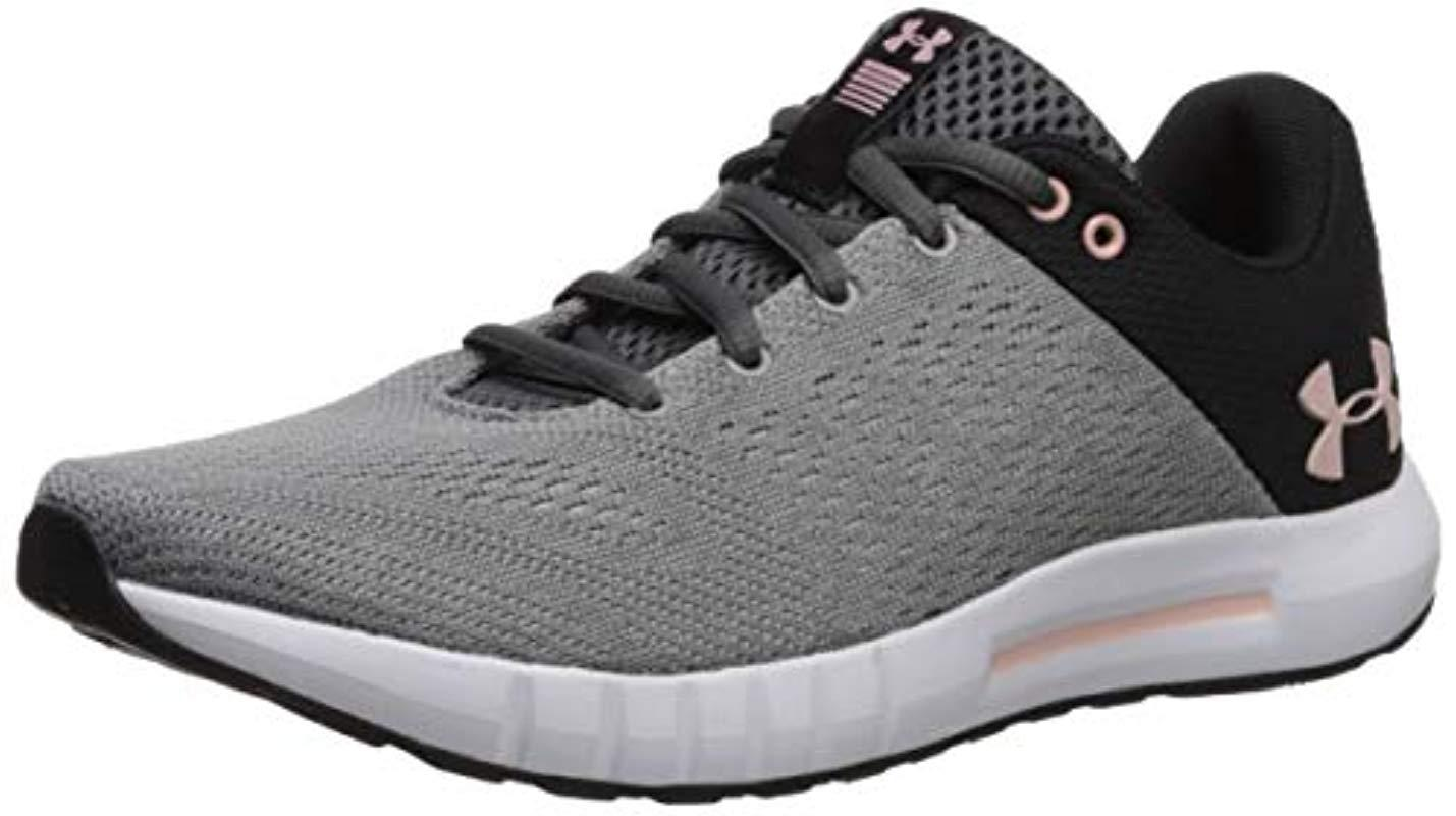 f5ecd568037 Under Armour Ua W Micro G Pursuit Competition Running Shoes in Gray ...