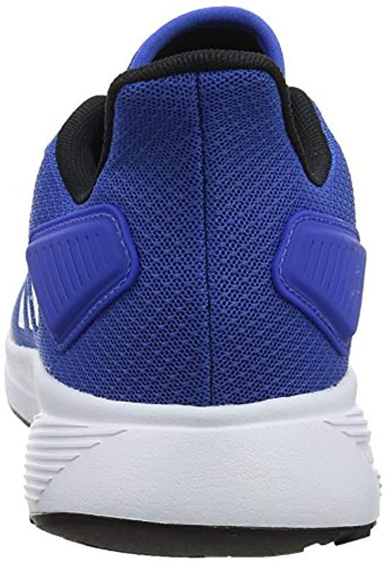 the latest 15ac3 668d3 Adidas - Blue Duramo 9 Running Shoes for Men - Lyst. View fullscreen