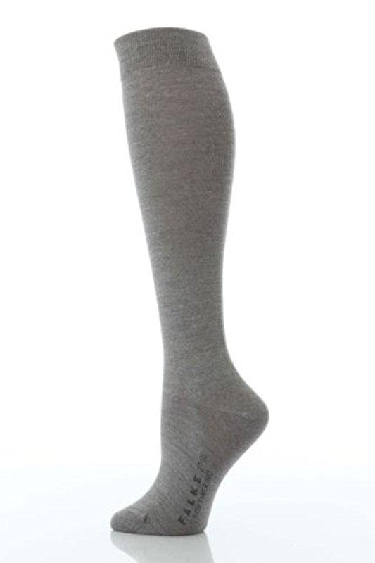 6f038034ccf Lyst - Falke Soft Merino Knee Highs (dark Navy) Women s Knee High ...