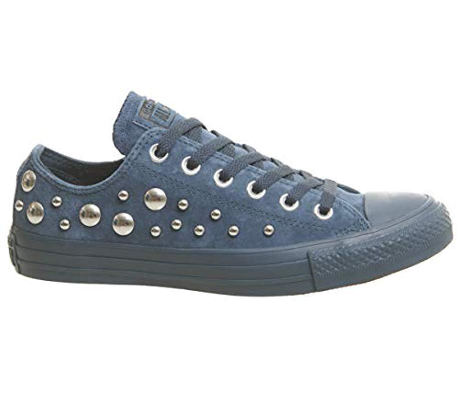 841196bf043475 Converse Unisex-adult Chuck Taylor All Star Core Ox Trainers in Blue ...