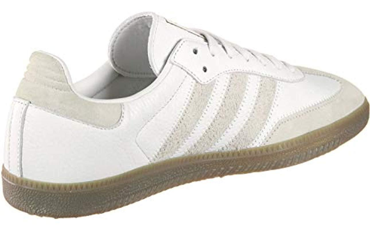 c6eac031ed4a8b Adidas - White Samba Og Ft Gymnastics Shoes for Men - Lyst. View fullscreen