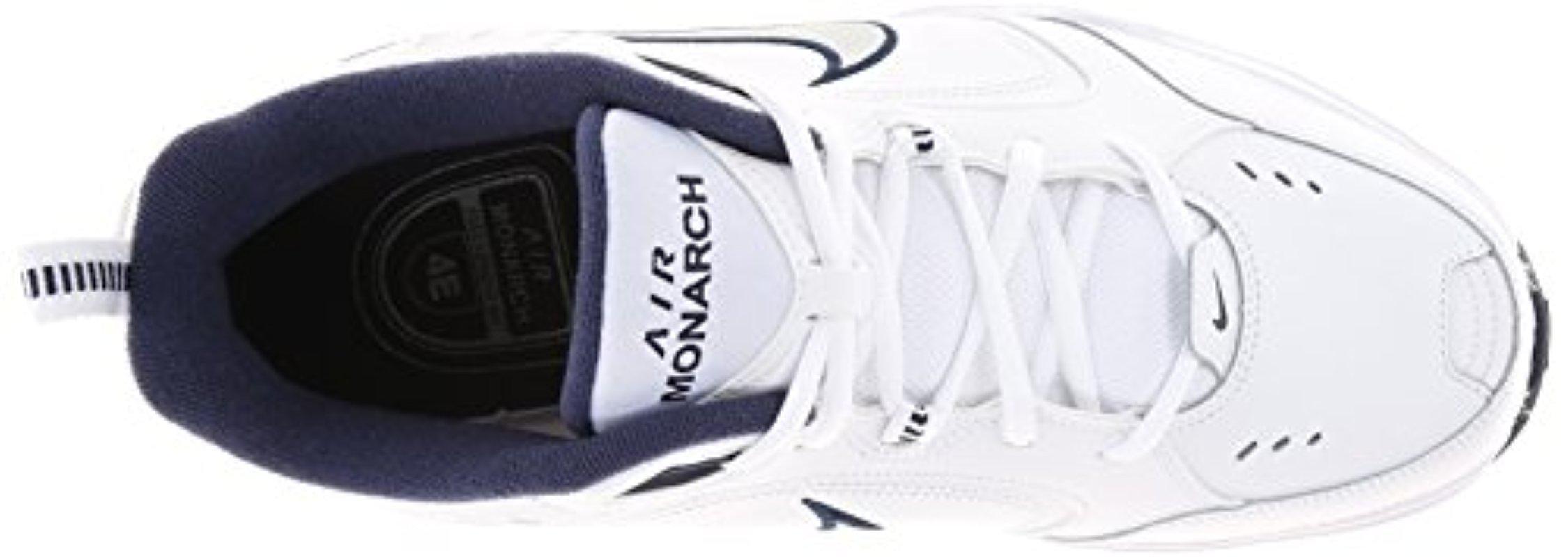 e7868c8ef56182 Lyst - Nike Air Monarch Iv (mens) - 6 White metallic Silver in ...