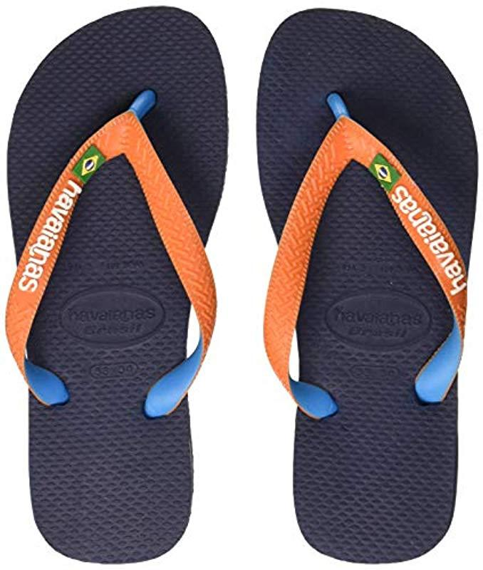 5d342186f20 Havaianas - Blue Unisex Adults  Brasil Mix Flip Flops - Lyst. View  fullscreen