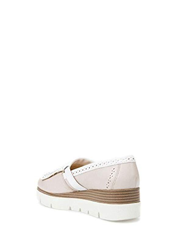 737b5ed985 Geox 's D Kattilou E Loafers in Pink - Lyst