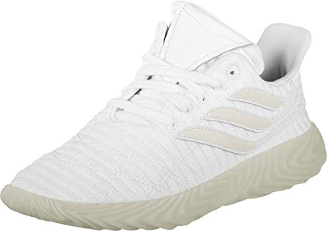 e022c6ee9453f adidas Sobakov Fitness Shoes Black in White for Men - Lyst